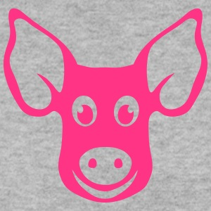 pig head drawing 2202 Hoodies & Sweatshirts - Men's Sweatshirt