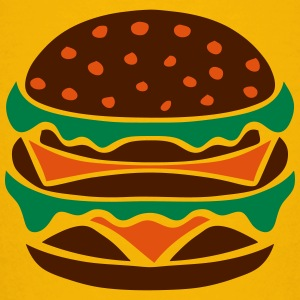 hamburger icon burger 22023 Shirts - Teenage Premium T-Shirt