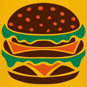 hamburger icon 22023 T-Shirts - Kinder Premium T-Shirt