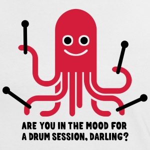 Are you in the mood for a drum session, darling? T-Shirts - Frauen Kontrast-T-Shirt