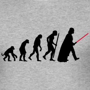 Evolution  lightsaber T-Shirts - Men's Slim Fit T-Shirt