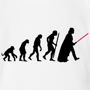 Evolution  lightsaber Baby Bodysuits - Organic Short-sleeved Baby Bodysuit