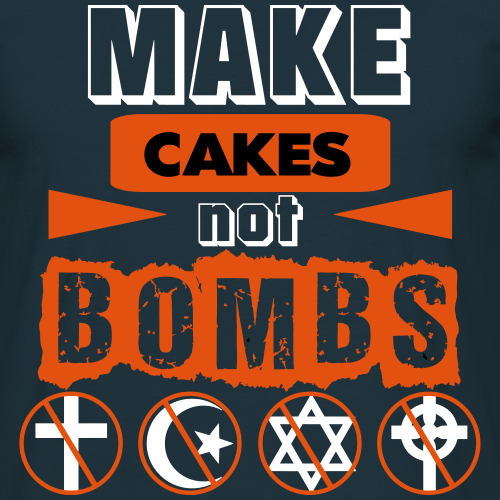 Make Cakes Not Bombs