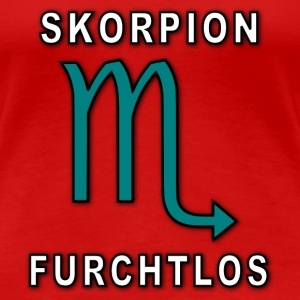 SKORPION T-Shirts - Frauen Premium T-Shirt