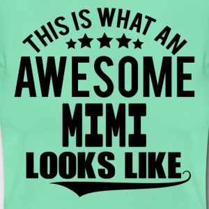 THIS IS WHAT AN AWESOME MIMI LOOKS LIKE T-Shirts - Women's T-Shirt