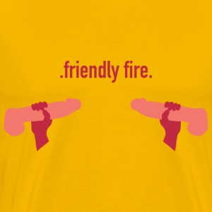 .friendly fire. T-Shirts - Männer Premium T-Shirt