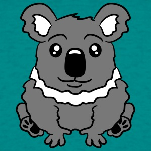 small fat sitting sweet plush koala T-Shirts - Men's T-Shirt