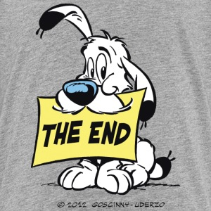 Asterix & Obelix - Idefix 'The End' Teenager T-Shi - Teenager Premium T-Shirt