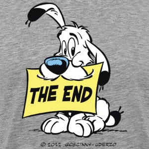Asterix & Obelix - Idefix 'The End' Men's T-Shirt - Men's Premium T-Shirt