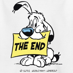 Asterix & Obelix - Idefix 'The End' Kid's T-Shirt - T-shirt barn
