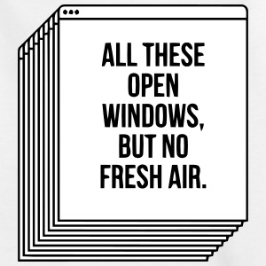 100 OPEN WINDOW - BUT NO FRESH AIR Shirts - Kids' T-Shirt