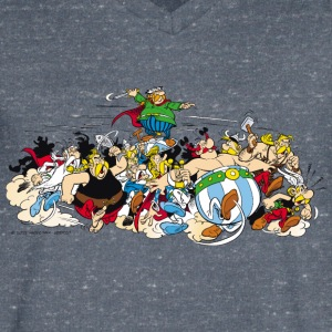 Asterix & Obelix attack Men's T-Shirt - Men's V-Neck T-Shirt