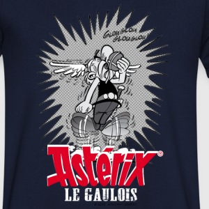 Asterix & Obelix - Asteriy dynamics Men's T-Shirt - T-skjorte med V-utsnitt for menn