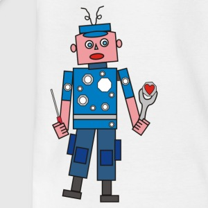 robot in love Tee shirts - T-shirt Enfant