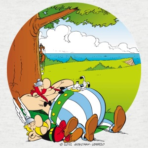 Asterix & Obelix are sleeping Men's T-Shirt - Camiseta de pico hombre