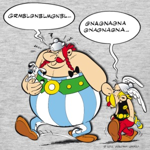 Asterix & Obelix speach bubbles Men's T-Shirt - T-shirt herr
