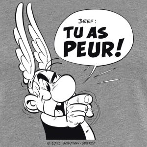 Asterix & Obelix - Asterix 'Tu as peur!' Women's T - Premium-T-shirt dam