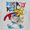 Asterix & Obelix - Troubadix Rock'n' Roll Men's T- - T-skjorte for menn