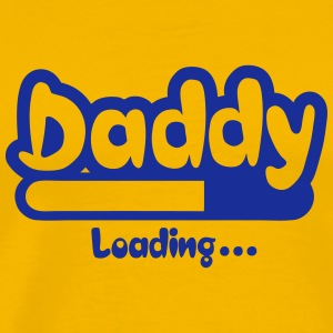 daddy loading Progress bar 0 Camisetas - Camiseta premium hombre