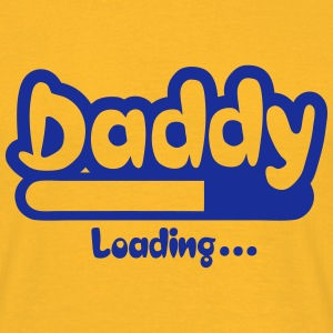 daddy loading Progress bar 0 Camisetas - Camiseta hombre