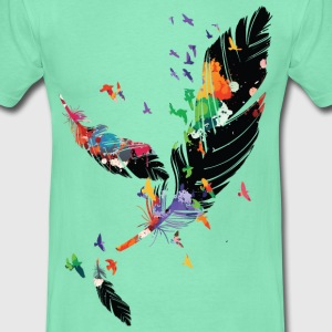 FEATHERS  Men's T-Shirt - Men's T-Shirt