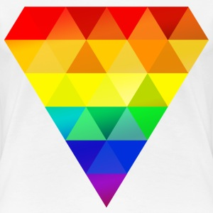 Pride Diamond - Frauen Premium T-Shirt