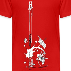 Asterix & Obelix Tchac! Teenager T-Shirt - Teenager Premium T-Shirt