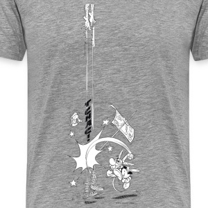 Asterix & Obelix Tchac! Men's T-Shirt - Premium T-skjorte for menn