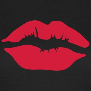 Kissing mouth lip 11022 1102 T-Shirts - Women's T-Shirt