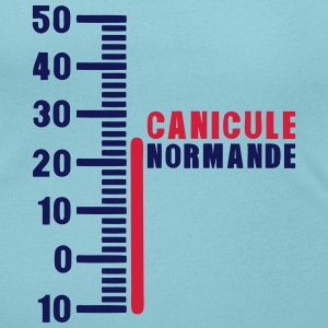 thermometre canicule normande humour Tee shirts - T-shirt col rond U Femme