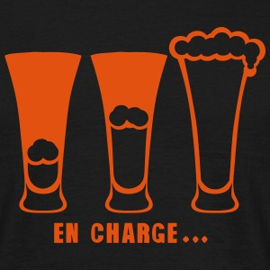 en charge alcool humour biere 902 Tee shirts - T-shirt Homme