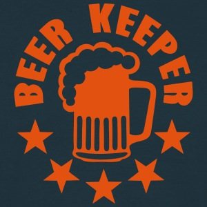 keeper beer alcohol humor T-Shirts - Men's T-Shirt