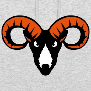 Capricorn beast animal head 9023 Hoodies & Sweatshirts - Unisex Hoodie