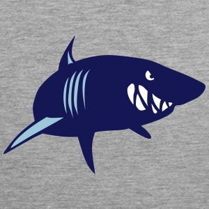 Shark beast animal head 902 Sports wear - Men's Premium Tank Top