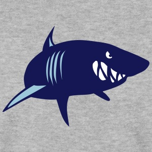 Shark beast animal head 902 Hoodies & Sweatshirts - Men's Sweatshirt