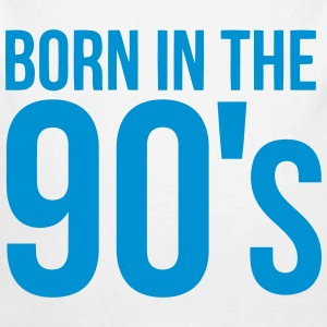BORN IN THE 90S Baby Bodysuits - Longlseeve Baby Bodysuit