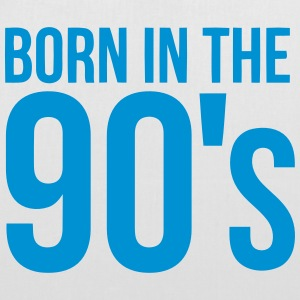 BORN IN THE 90S Bags & Backpacks - Tote Bag