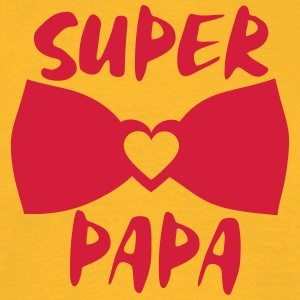 super papa noeud papillon 802 Tee shirts - T-shirt Homme