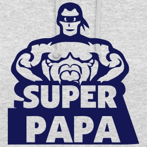 super papa heros muscle masque 802 Sweat-shirts - Sweat-shirt à capuche unisexe