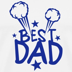 Best dad explosion 802 T-Shirts - Men's Premium T-Shirt