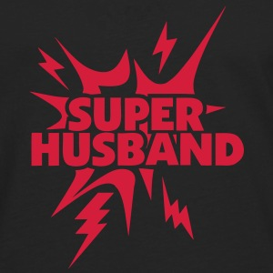super husband Lightning thunder 28 Long sleeve shirts - Men's Premium Longsleeve Shirt