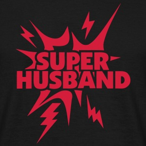 super husband Lightning thunder 28 T-Shirts - Men's T-Shirt