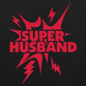 super husband Lightning thunder 28 Sports wear - Men's Premium Tank Top