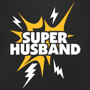 super husband Lightning thunder 80 T-Shirts - Men's V-Neck T-Shirt