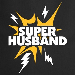 super husband Lightning thunder 80  Aprons - Cooking Apron