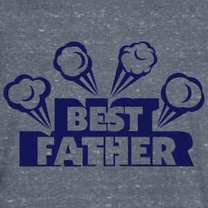 best father explosion smoke 802 T-Shirts - Men's V-Neck T-Shirt