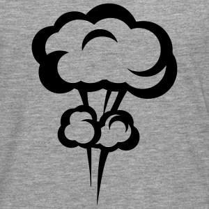 Explosion mushroom nuclear drawing 33 Long sleeve shirts - Men's Premium Longsleeve Shirt
