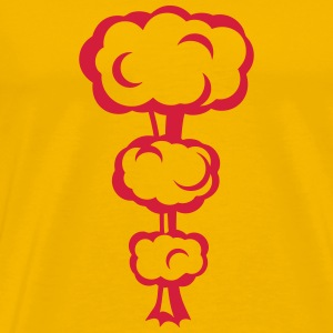 Explosion mushroom nuclear drawing 32 T-Shirts - Men's Premium T-Shirt