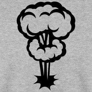 explosion champignon nucleaire dessin 30 Sweat-shirts - Sweat-shirt Homme
