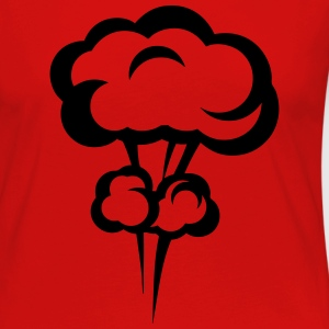 Explosion mushroom nuclear drawing 33 Long Sleeve Shirts - Women's Premium Longsleeve Shirt